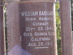 William Barklage