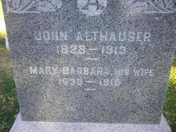 Mary Barbara <I>Liebe</I> Althauser