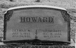 Lelah Sarah <I>Pate</I> Howard