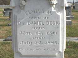 Elmina M. <I>Fogleman</I> Beck