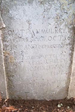 Rev Jonathan Mulkey