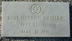 Lois <I>Hutson</I> Crosby