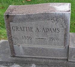 Grattie Adella <I>Curry</I> Adams