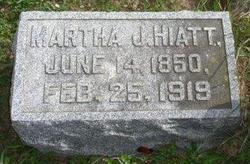 Martha Jane <I>Ingle</I> Hiatt