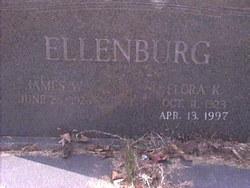 Flora Dette <I>Knight</I> Ellenburg