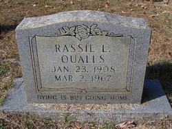 Rassie L. Qualls