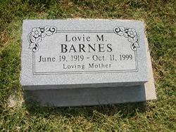 Lovie M. <I>Brooks</I> Barnes