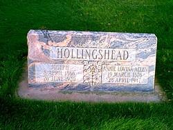 Annie Lovina <I>Allen</I> Hollingshead