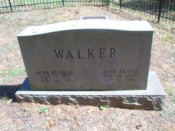 Alma <I>Russell</I> Walker