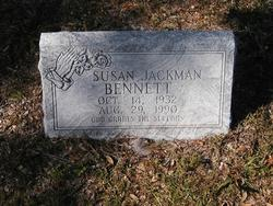 Susan <I>Jackman</I> Bennett