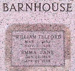 Emma Jane <I>Staggs</I> Barnhouse