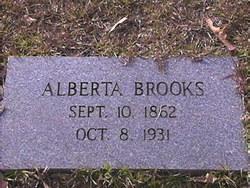 Alberta E. <I>Slate</I> Brooks
