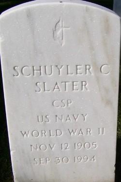 Schuyler C Slater