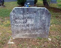 Edith <I>Hollifield</I> Biddix