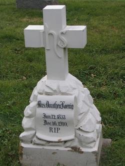Dorothea <I>Kirchberg</I> Koenig