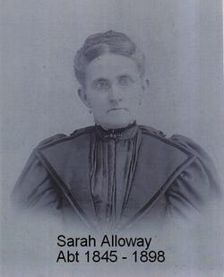 Sarah B <I>Alloway</I> Shinn
