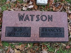 Francys <I>Roberts</I> Watson