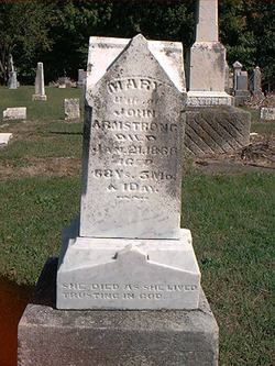 Mary <I>Lucas</I> Armstrong