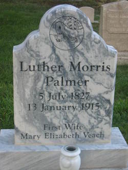 """Luther Moses """"Morris"""" Palmer"""