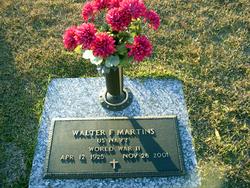 "Walter F. ""Babe"" Martins"
