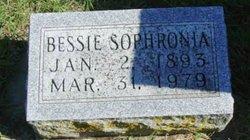 Bessie Sophronia <I>Estell</I> Devault