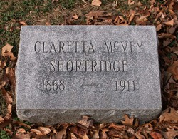 Claretta <I>McVey</I> Shortridge