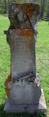 Louretta <I>Corbin</I> Inman