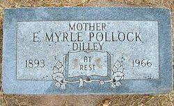 Edith Myrtle <I>Dilley - Sebree</I> Pollock