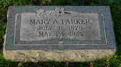 Mary Amanda <I>Bartlett</I> Parker