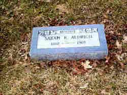 Sarah R. <I>Harris</I> Aldrich