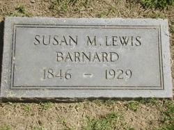 Susan M <I>Lewis</I> Barnard