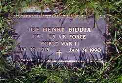 Joe Henry Biddix