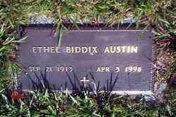 Ethel <I>Biddix</I> Austin
