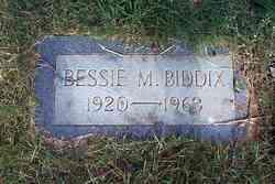 Bessie Marjorie Biddix