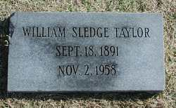 William Sledge Taylor