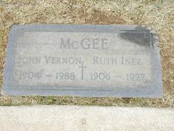Ruth Inez <I>Jordan</I> McGee
