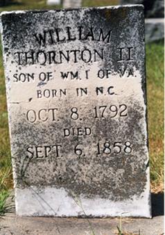 William H Thornton II