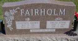 Florence <I>Brown</I> Fairholm