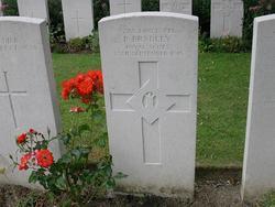 Lance Corporal P Bradley