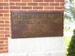 Fetterhoffs Cemetery