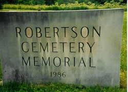 Robertson Cemetery