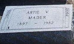 Artie Viola <I>Roseboom</I> Mader