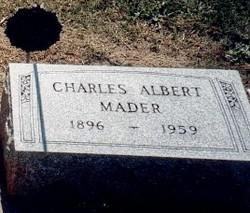 Charles Albert Mader