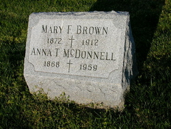 Mary F. <I>Moran</I> Brown