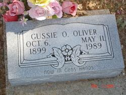 Gussie Ophelia <I>Yancey</I> Oliver