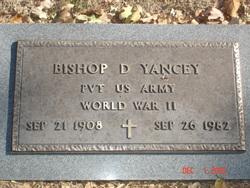 Bishop Duncan Yancey