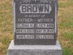 Lucy Ann <I>Hulett</I> Brown