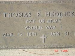 Thomas F. Hedrick