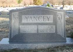 Bartlett H Yancey