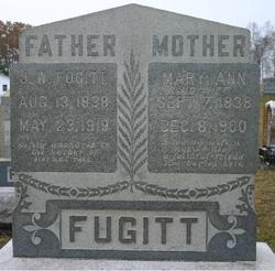 Mary Ann Levicey <I>England</I> Fugitt